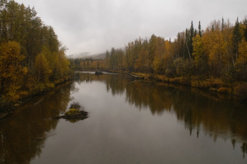 Chatanika River in the Fall