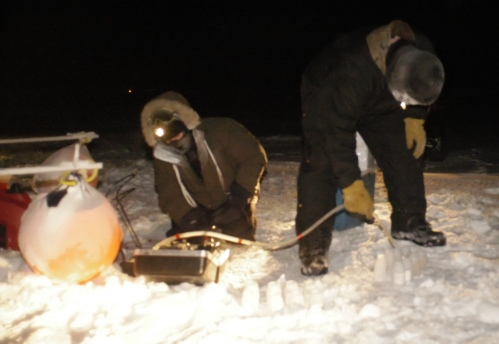 Sampling in Cold Weather